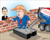 Cartoon: The wall (small) by jeander tagged wall,maur,trump,us,mexico,nieto