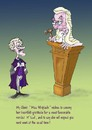 Cartoon: A Favourable verdict (small) by andybennett tagged barrister judge law miss whiplash court verdict andy bennett