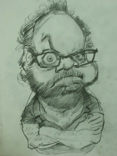 Cartoon: PAUL GIAMATII (medium) by GOYET tagged paul,drawin,sketh,celebreties,caricature,giamatii