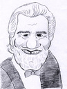 Cartoon: Omar Sharif (small) by Liam tagged schauspieler,promi,schiwago