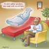 Cartoon: Beim Psychater (small) by neufred tagged sofa,psychter,psychologe,minderwertigkeitskomplex,patient,freud,praxis