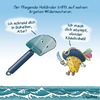 Cartoon: Der Fliegende Holländer vs Käs (small) by neufred tagged der,fliegende,holländer,käsehobel,piraten,meer