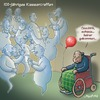 Cartoon: Klassentreffen (small) by neufred tagged klassentreffen,alter,greise,jubiläum