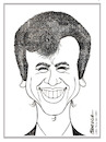 Cartoon: Little Tony (small) by Enzo Maneglia Man tagged caricature,grafica,famosi,cantanti,anni60,buduar,umorismo,man,maneglia