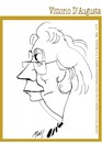 Cartoon: Vittorio D Augusta pittore (small) by Enzo Maneglia Man tagged vittorio,augusta,pittore,installazionista