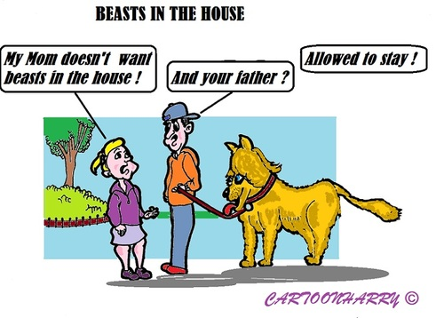 Cartoon: Exceptions (medium) by cartoonharry tagged exceptions,rules,beasts,kids,animals,daddy,mummy