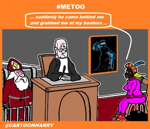 Cartoon: MeJudge (medium) by cartoonharry tagged santa,boobs,pete