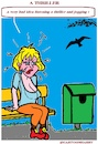 Cartoon: A Thriller (small) by cartoonharry tagged cartoonharry,thriller