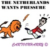 Cartoon: Assad and the Lion (small) by cartoonharry tagged holland,pressure,assad,lion,cartoon,cartoonharry,cartoonist,dutch,toonpool
