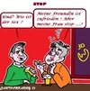Cartoon: Bar Besuch (small) by cartoonharry tagged bar,besoffen,frau,freundin,gespraech
