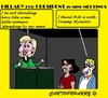 Cartoon: Bill and Hillary (small) by cartoonharry tagged usa,president,hillary,clinton,bill,tammywynette