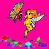 Cartoon: Butterfly (small) by cartoonharry tagged insects,girls,nude,cartoonharry,dutch,cartoonist,toonpool