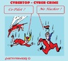 Cartoon: Cyber Security (small) by cartoonharry tagged airoplane,cybertop,cybercrime,cybersecurity,hackers,stewardess,pilot,computer,laptop,smartphone