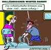 Cartoon: Der Anfang (small) by cartoonharry tagged winter,anfang,schlittschuhe