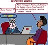 Cartoon: Diskriminierung (small) by cartoonharry tagged dikriminierung,arbeit,betrieb,ahmed