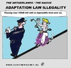 Cartoon: Dutch Illegal Law (small) by cartoonharry tagged justicia,police,scooter,girl,cartoon,comic,comix,comics,artist,art,arts,drawing,sexy,cartoonist,cartoonharry,dutch,holland,law,traffic,toonpool,toonsup,facebook,hyves,linkedin,buurtlink,deviantart