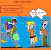 Cartoon: Ein Beispiel (small) by cartoonharry tagged beispiel,cartoonharry