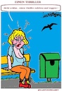 Cartoon: Einen Thriller (small) by cartoonharry tagged thriller,cartoonharry