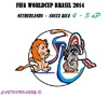 Cartoon: FIFA Worldcup Brasil 2014 (small) by cartoonharry tagged fifa,soccer,worldcup,netherlands,costarica,2014