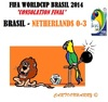 Cartoon: FIFA Worldcup Brasil 2014 (small) by cartoonharry tagged fifa,worldcup,soccer,2014,third,brasil,netherlands