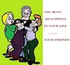 Cartoon: Friends (small) by cartoonharry tagged friends