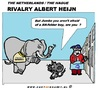 Cartoon: Grocers Rivalry (small) by cartoonharry tagged grocer,elephant,mouse,ah,jumbo,second,cartoon,cartoonist,cartoonharry,dutch,toonpool
