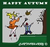 Cartoon: Happy Autumn (small) by cartoonharry tagged autumn2015