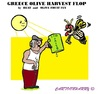 Cartoon: Harvest Flop (small) by cartoonharry tagged greece,harvest,flop,oliveoil
