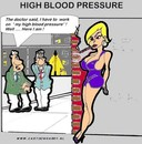 Cartoon: High Blood Pressure (small) by cartoonharry tagged blood,pressure,cartoonharry,cartoon,girl,sexy