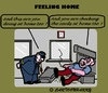 Cartoon: HomeFeelings (small) by cartoonharry tagged home,train,feelings,aso,conductor,check