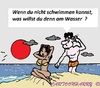 Cartoon: Kein Diplom (small) by cartoonharry tagged diplom,schwimmen,cartun,toon,deutsch,strand,cartoonist,cartoonharry,dutch,toonpool