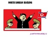Cartoon: Kim Jung Un attacks USA (small) by cartoonharry tagged kimjungun,northkorea,usa,cybercrime,hackers