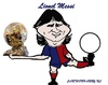Cartoon: Lionel Messi (small) by cartoonharry tagged lionel,messi,caricature,barcelona,argentina,cartoonharry,toonpool