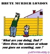 Cartoon: London Echec (small) by cartoonharry tagged england,brute,murder,soldier,akela,scout,scouting,london,cool,cartoons,cartoonists,cartoonharry,dutch,toonpool