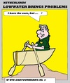 Cartoon: Lowwater Problems (small) by cartoonharry tagged lowwater,problems,rain,sun,dry,boats,shipping,rivers,cartoon,cartoonist,cartoonharry,dutch,europ