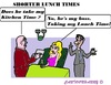 Cartoon: Lunch (small) by cartoonharry tagged stopwatch,lunchtime