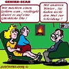 Cartoon: Mann Frau OhOh (small) by cartoonharry tagged psychiater,mann,frau,scan