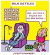 Cartoon: Milk Bottles (small) by cartoonharry tagged sixpack,cartoonharry