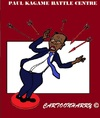 Cartoon: Paul Kagame (small) by cartoonharry tagged kagame,problems,meeting,africa,solo,caricature,cartoon,cartoonist,cartoonharry,dutch,toonpool