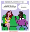 Cartoon: Personal Contribution (small) by cartoonharry tagged cartoonharry