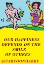 Cartoon: Smile (small) by cartoonharry tagged smile,cartoonharry