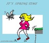 Cartoon: Spring 2013 (small) by cartoonharry tagged spring,2013,falling,cartoon,insect,cartoonist,cartoonharry,dutch,toonpool