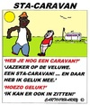 Cartoon: STA-CARAVAN (small) by cartoonharry tagged stacaravan,zitten,veluwe,cartoon,humor,cartoonist,cartoonharry,dutch,toonpool