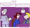 Cartoon: Steak (small) by cartoonharry tagged steak,cartoonharry