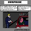 Cartoon: Surprise (small) by cartoonharry tagged car,driver,drunk,police,garage