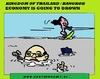 Cartoon: Thailand Bangkok (small) by cartoonharry tagged thailand,bangkok,drawn,waterski,vacation,water,cartoon,cartoonist,cartoonharry,dutch,toonpool