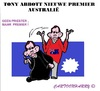 Cartoon: Tony Abbott (small) by cartoonharry tagged australia,tonyabbott,premier,toonpool