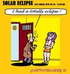 Cartoon: Totally Eclipse (small) by cartoonharry tagged tomorrow,totally,eclipse,earth,moon,sun