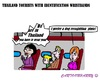 Cartoon: Tourist Wristbands (small) by cartoonharry tagged thailand,wristband,tourist