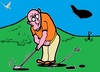 Cartoon: Weiter Ueben (small) by cartoonharry tagged sport,golf,expression